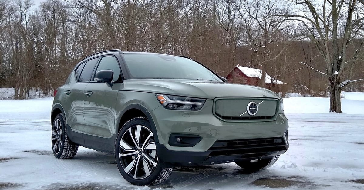 2021 volvo xc40 recharge first drive review: it's electric